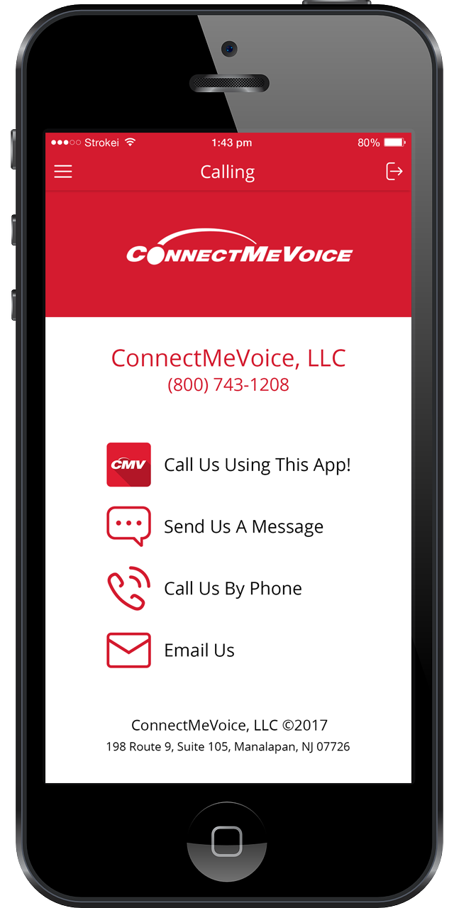 VoIP app, virtual office from your mobile device