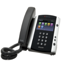 Polycom touch-screen VVX phones