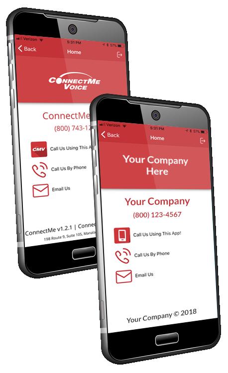 ConnectMeVoice mobile apps
